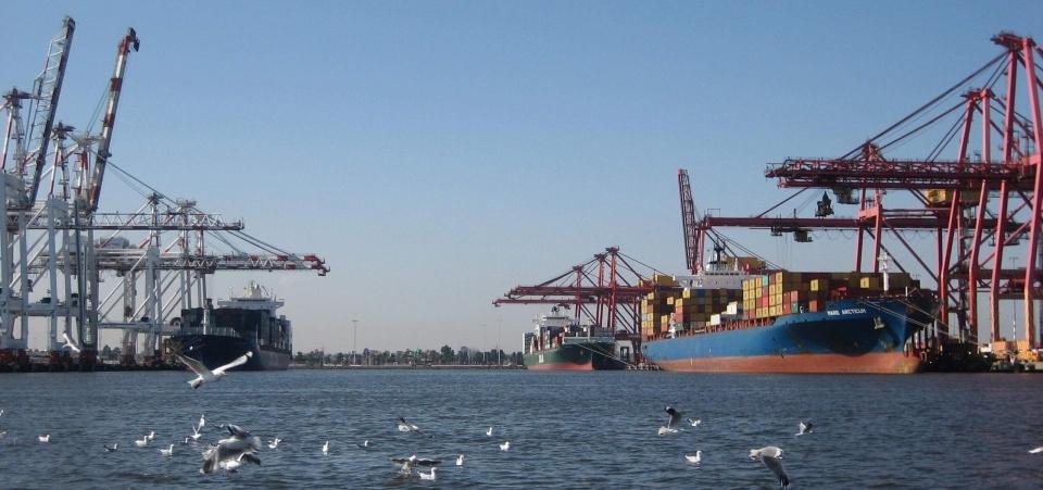 Swanston Dock Melbourne Port Australia