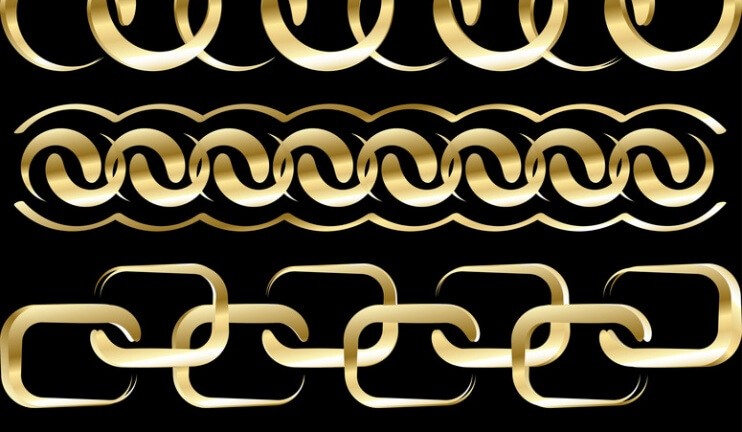 value and supply chains are gold