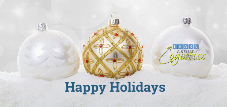 Happy Holidays from Learn About Logistics