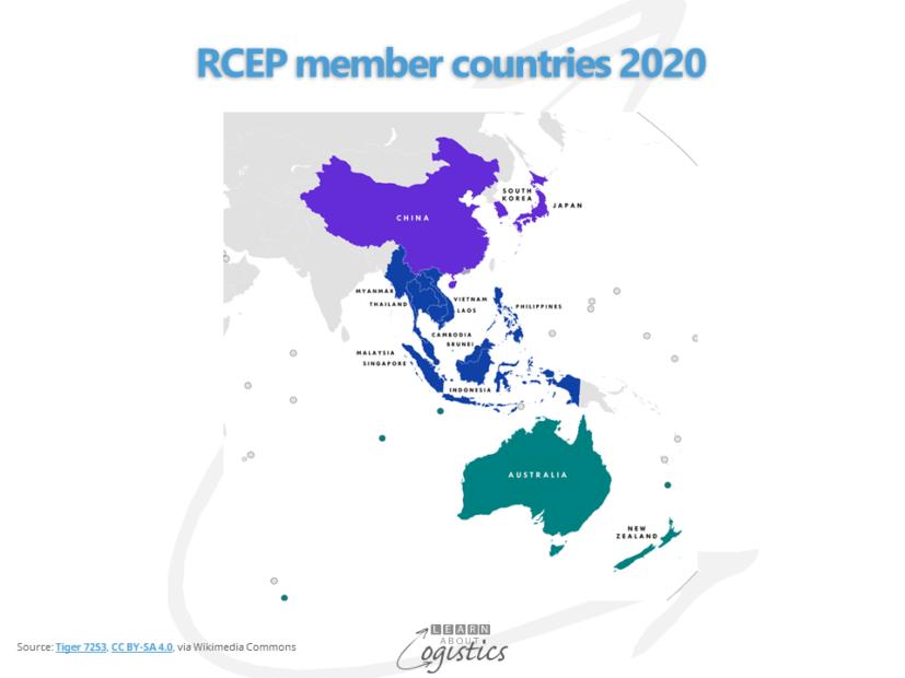 RCEP member countries 2020